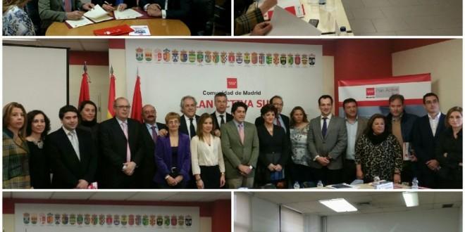Firma de convenio de la oficina de seguimiento y reuni n del comit impulsor del plan activa sur - Convenio de oficinas y despachos madrid ...