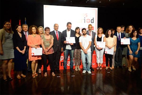 Entrega de los galardones de los XI Premios madri+d