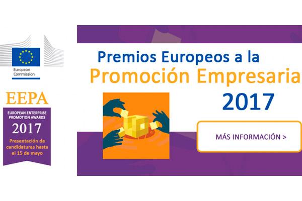 Premios Europeos a la Promoción Empresarial 2017. Convocatoria abierta
