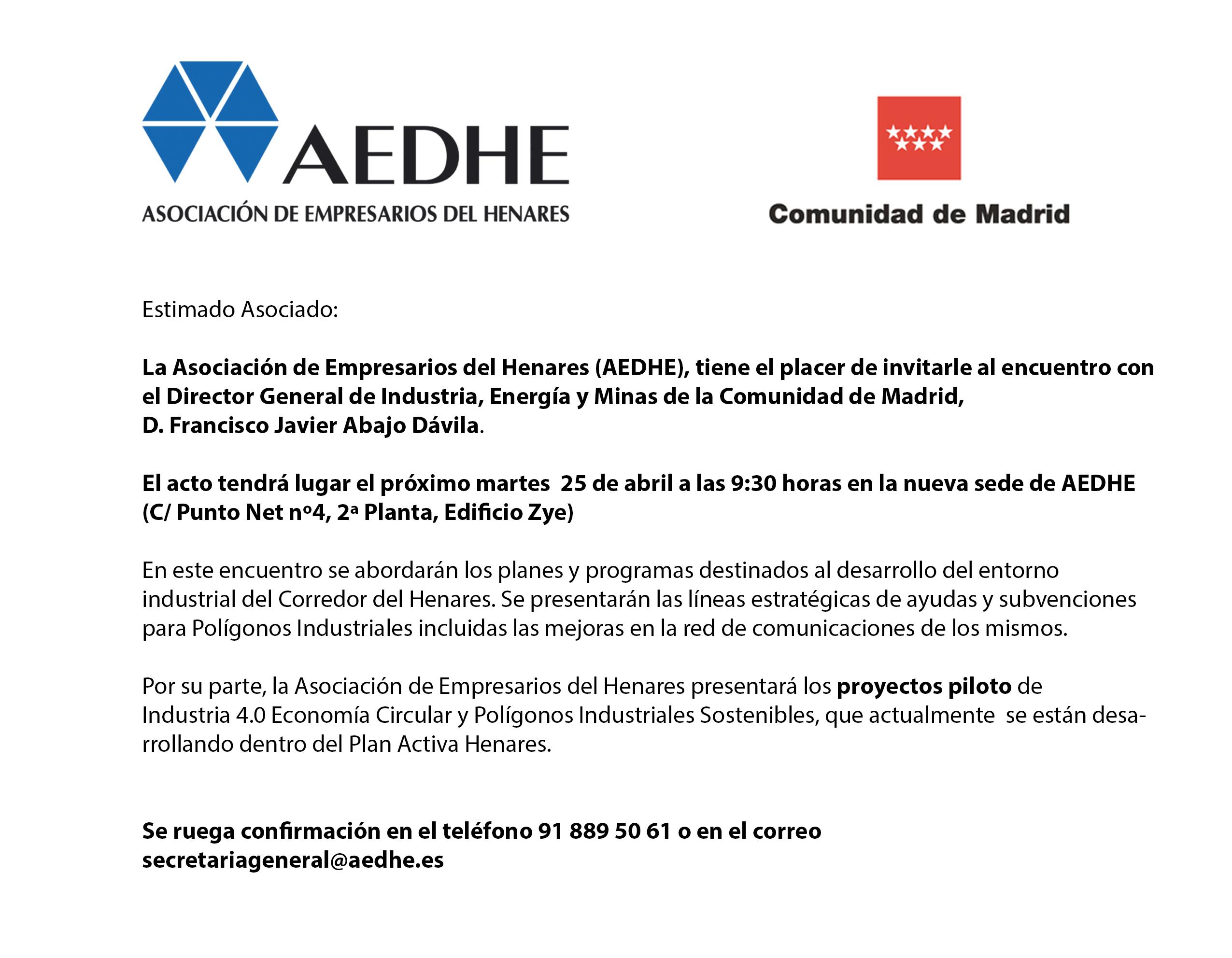 Invitacion AEDHE