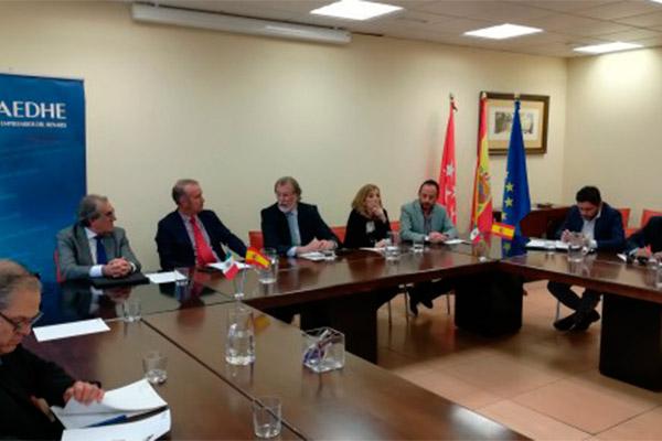 AEDHE recibe la visita de una delegación mexicana interesada en el desarrollo económico del Corredor del Henares
