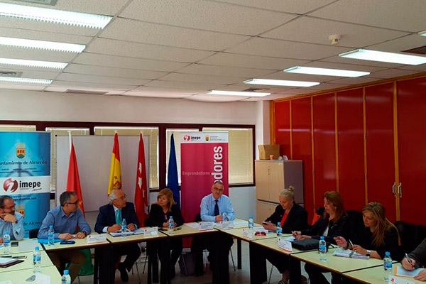 Visita del Director General de Carreteras e Infraestructuras de la Comunidad de Madrid a la Mesa de Trabajo Infraestructura y Proyectos de Plan Activa Sur
