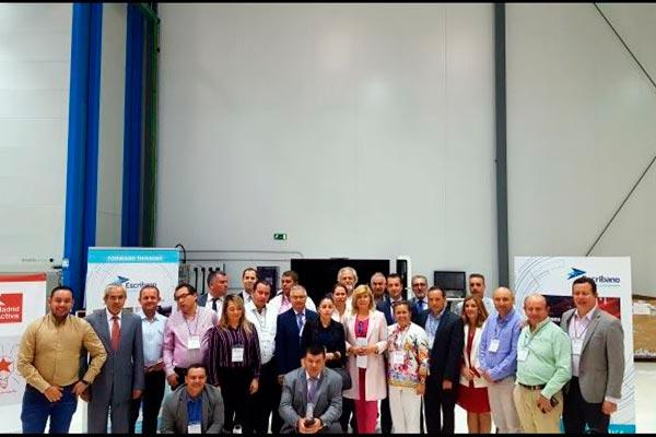 Visita de la Delegación de Alcaldes de la Provincia de Cundinamarca (Cundinamarca) a Madrid Activa