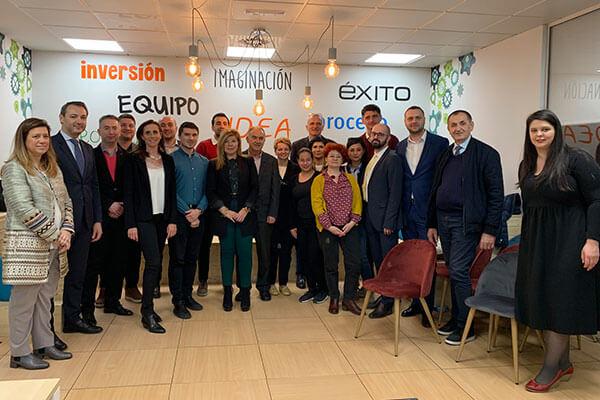 Madrid Activa recibe a una delegación del Ministerio para el Entorno Empresarial, Comercio y Emprendimiento del Gobierno de Rumanía.