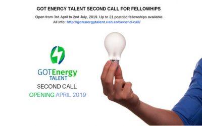 Abierto el 2º plazo de presentación de solicitudes del Got Energy Talent