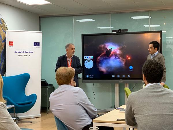 Anova IT Consulting Organiza un Taller sobre Tecnologías y Casos de Éxito en Industria 4.0 en el Vivero de Empresas de Madrid Activa